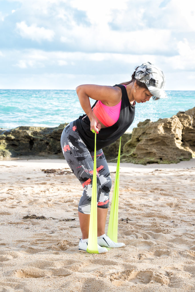Bent-Over Row step 2 - Travel with the Band