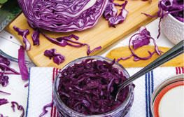 RED CABBAGE - Sauerkraut