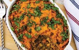 Turkey & Sweet Potato Shepherd's Pie