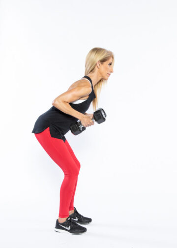 Bent-Over Row step 2 - whole-body workout