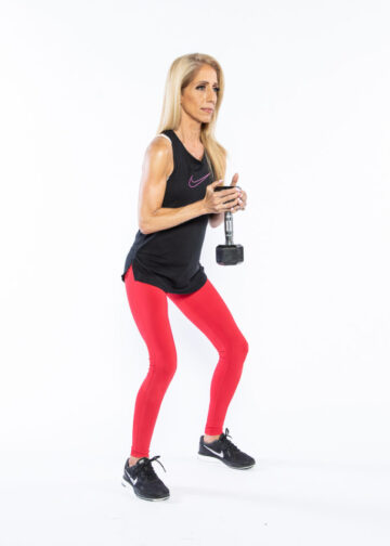 Goblet Squat step 1 - whole-body workout