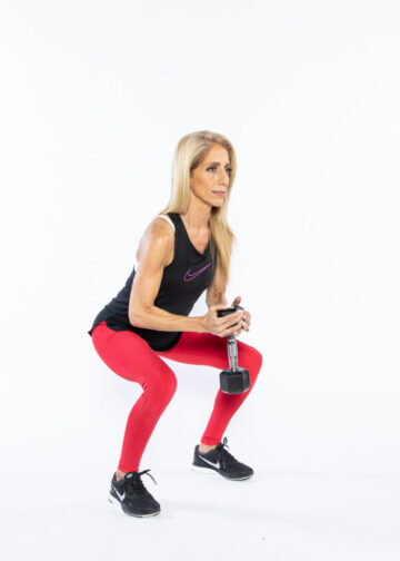 Goblet Squat step 2 - whole-body workout