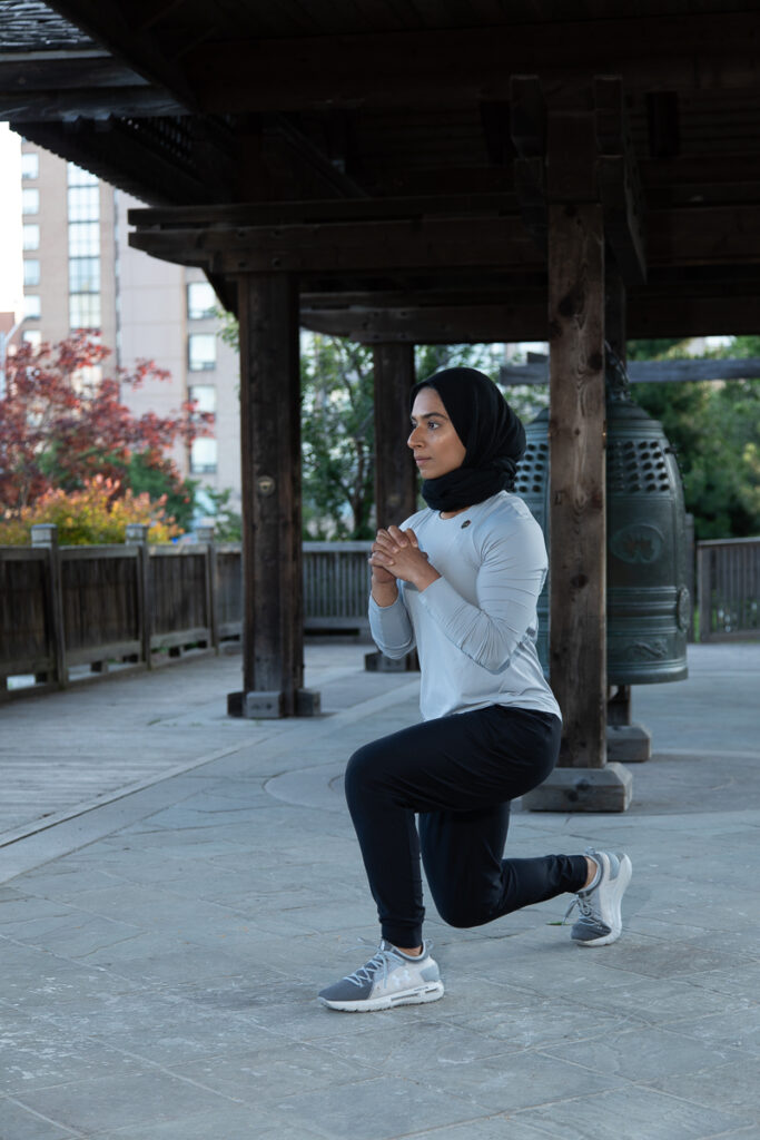 Body Weight Exercises - Lunges - Step 1