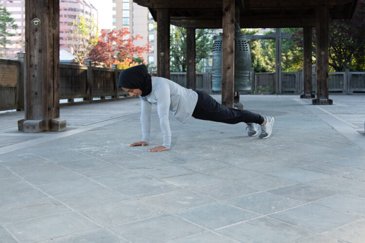 Burpees - Step 2 Body weight exercise