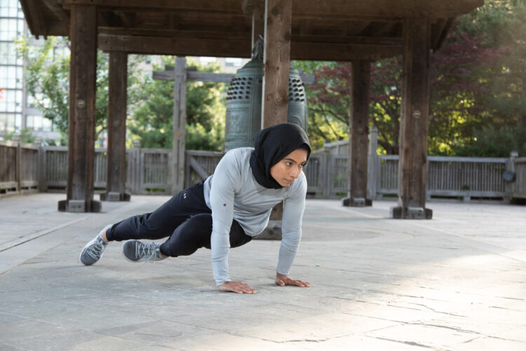 PLANK with KNEE TO Alternate ELBOWS - Step 5 - Body Weight Exercises