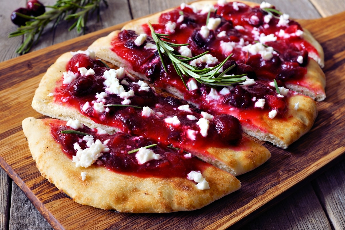 Cranberry And Goat Cheese Flatbread Recipe